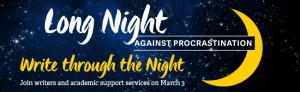 Long Night Against Procrastination - March 3rd